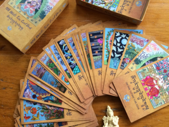108 White Tara Card Deck